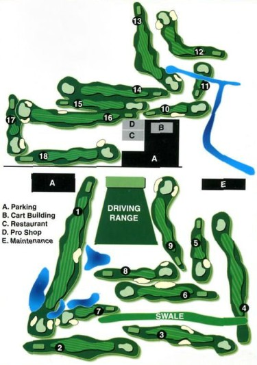 WGC Course Layout